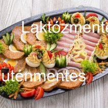 Laktóz és gluténmentes családi hidegtál
