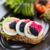 Kaviáros szendvics